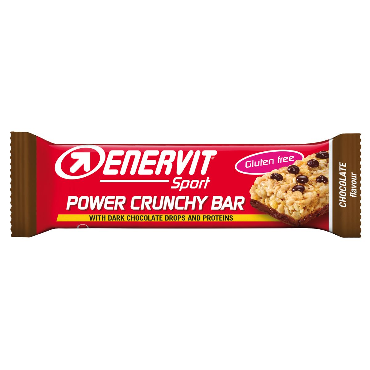Power Crunchy Bar carbohydrate bar Choco – gluten-free